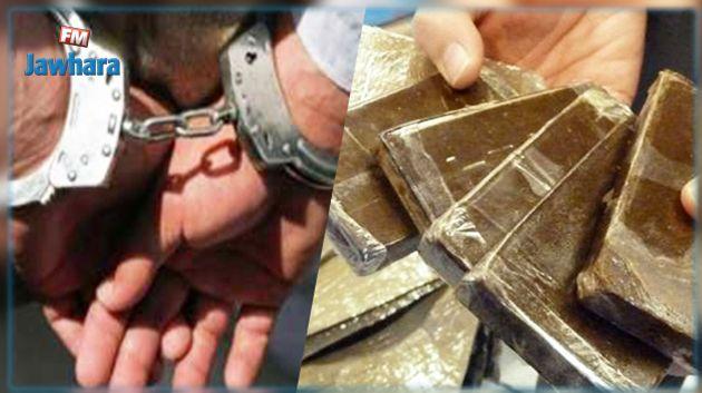 سيدي حسين : الإطاحة بمروج مخدرات وحجز كمية من المواد المخدرة