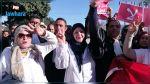 سيدي بوزيد : خروج مسيرة احتجاجية لأساتذة التعليم الثانوي