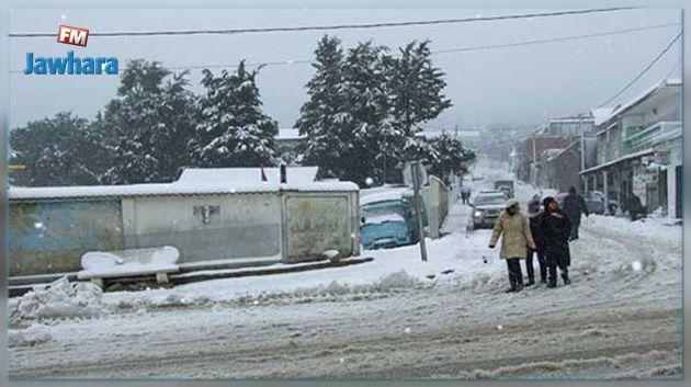 الشاهد يكلف عددا من الوزراء بالتنقل إلى الولايات التي تشهد تساقطا للثلوج