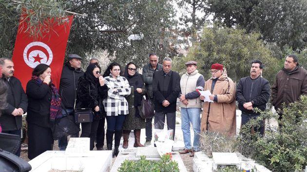 إحياء الذكرى الثامنة لاسشهاد زهير السويسي في أحداث الثورة بالحمامات