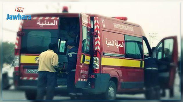 نابل : شاب يقدم على حرق نفسه أمام مركز الشرطة