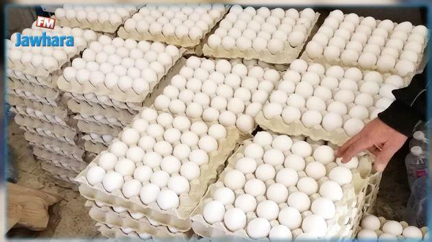 المنستير : حجز 5670 بيضة بسبب البيع بأسعار غير قانونية