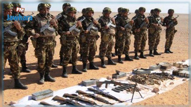 الكشف عن مخبأ للذخيرة في الجزائر