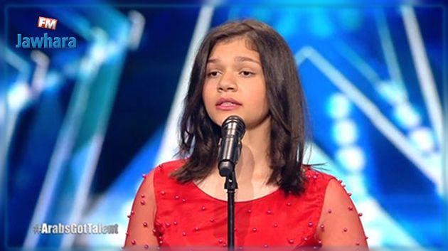 حفيدة أم كلثوم تهز مسرح Arabs Got Talent (فيديو)