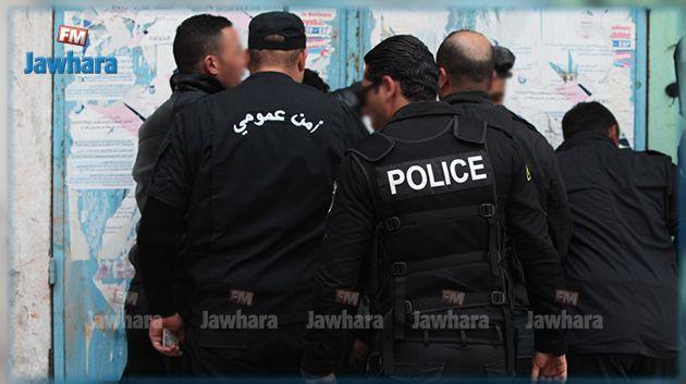 سوسة : القبض على منحرف خطير محل 23 منشور تفتيش