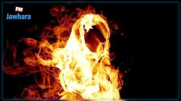 جرجيس : شاب يضرم النار في نفسه