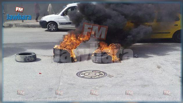 القيروان : احتقان ومواجهات بين الوحدات الأمنية ومحتجين