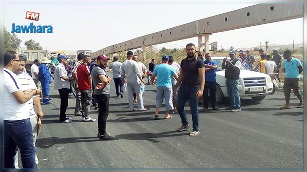 قفصة : احتجاجات بسبب انقطاع الماء