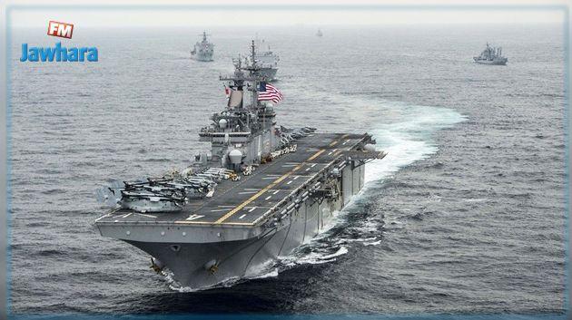 الولايات المتحدة تعلن تدمير طائرة إيرانية في مضيق هرمز