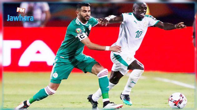 تشكيلتي الجزائر و السنغال في نهائي كاس الامم الافريقية