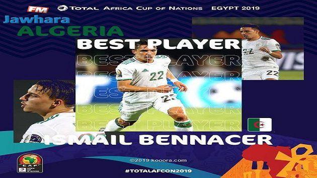 الجزائري إسماعيل بن ناصر أفضل لاعب في الكان