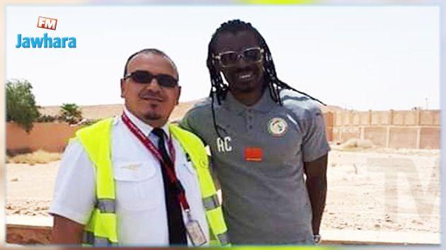 طائرة منتخب السنغال تحط في الجزائر؟