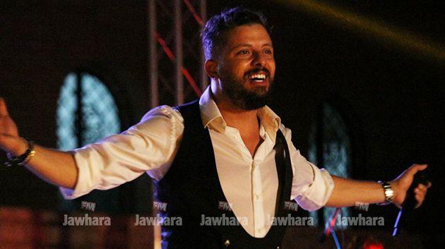 حفل حاتم عمور في مهرجان المنستير الدولي