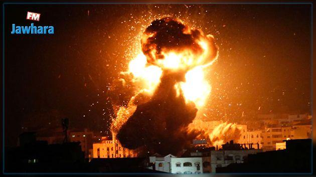 غزّة تحت القصف