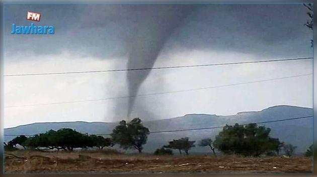 يتسبب في بعض الأضرار : إعصار يمرّ بسلام بإحدى المناطق في نابل