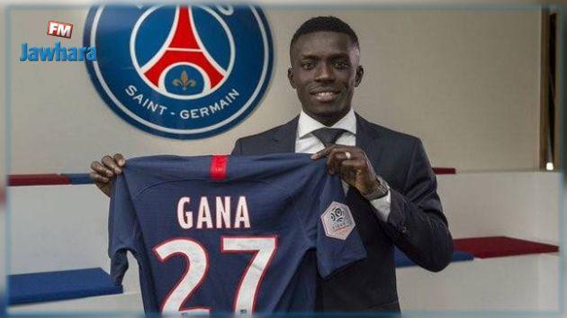 السنغالي غاي يغيب عن باريس سان جيرمان بسبب الإصابة