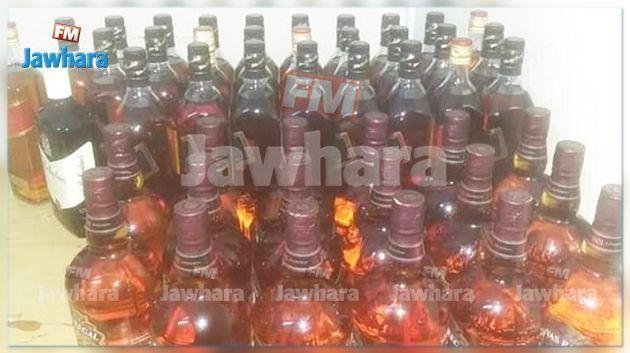 الناظور : حجز كميّة من المشروبات الكحولية الفاخرة