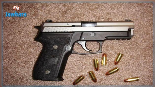 المهدية : مداهمة منزل وحجز مسدس