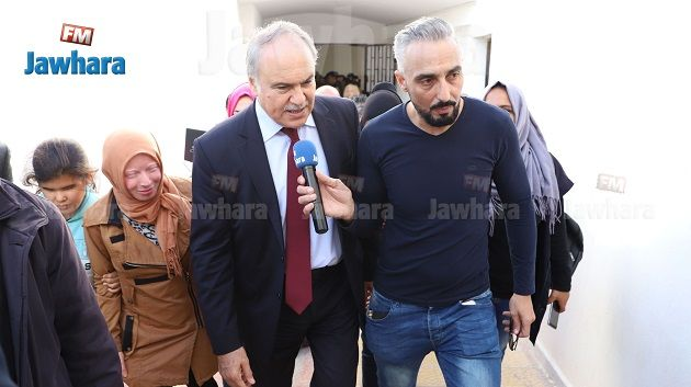 وزير التربية حاتم بن سالم في زيارة فجئية لمعهد الكفيف سوسة