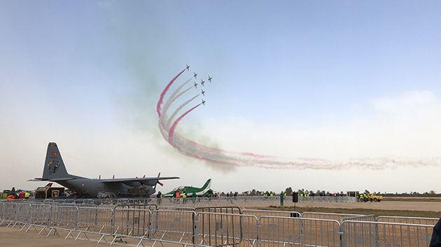 المعرض الدولي للطيران و الدفاع بمطار جربة