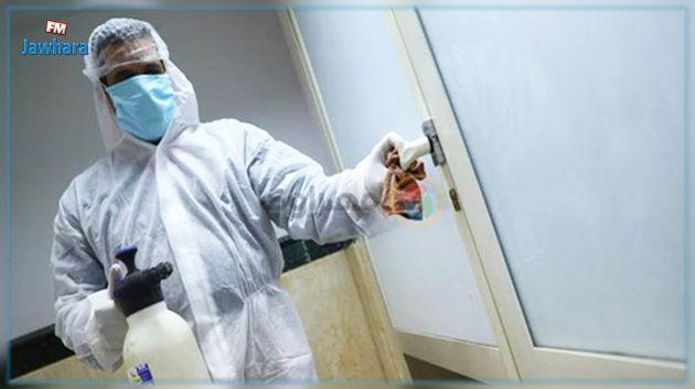 صاحب شركة خاصة لصنع و إنتاج مواد التعقيم يتكفل بتعقيم النزل المخصص للحجر الصحي