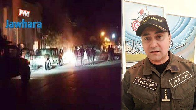 العقيد حسام الدين الجبابلي: سلسلة إيقافات و حجز رخص سياقة مخالفي الحجر الصحي الشامل