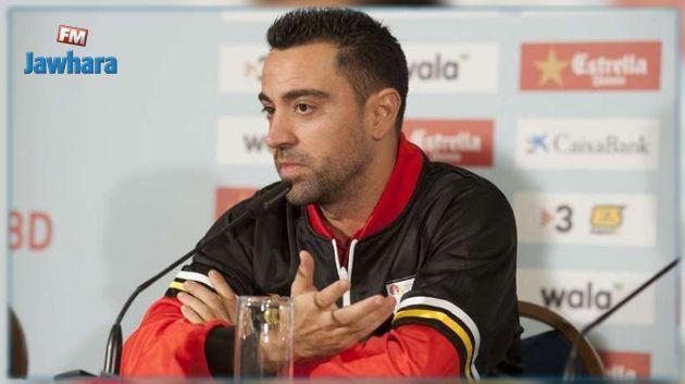 تشافي يريد تدريب برشلونة