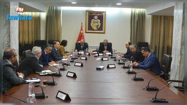 اجتماع في وزارة الدّاخلية حول تأمين المواد الغذائية