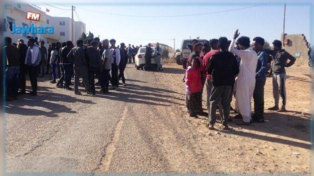 مدنين : توزيع مساعدات استثنائية على المهاجرين