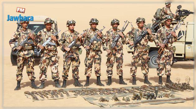 الجيش الجزائري يكشف ويدمر مخبأ للجماعات الإرهابية