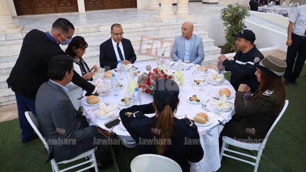 مأدبة إفطار في مقر ولاية سوسة بحضور وزير الداخليّة