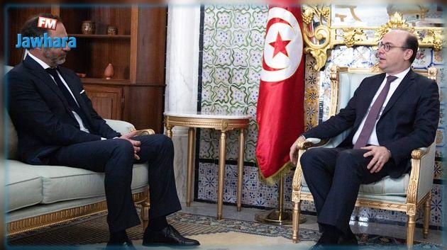 الفخفاخ يلتقي سفير الاتحاد الأوروبي بتونس