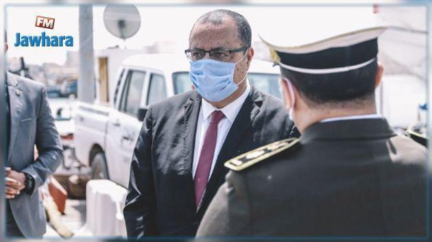 وزير الداخلية يقيّم مدى تطبيق اجراءات منع التنقل بين المدن بمناسبة عيد الفطر