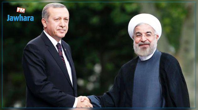 أردوغان وروحاني يؤكدان ضرورة فتح الحدود بين تركيا وإيران