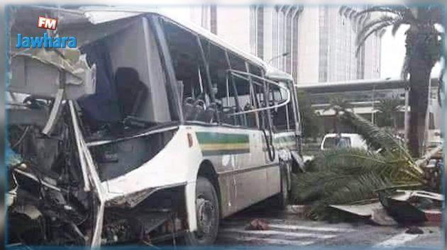 وزير النقل يأذن بفتح تحقيق في حادث اصطدام الحافلتين