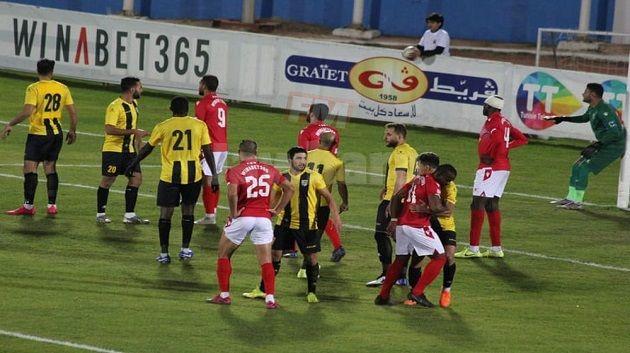 مباراة النجم الساحلي و المقاولون العرب ( صور منذر بن يزة)