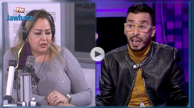 نقاش حاد في المباشر بين نوال غشام و مصطفى الدلاجي