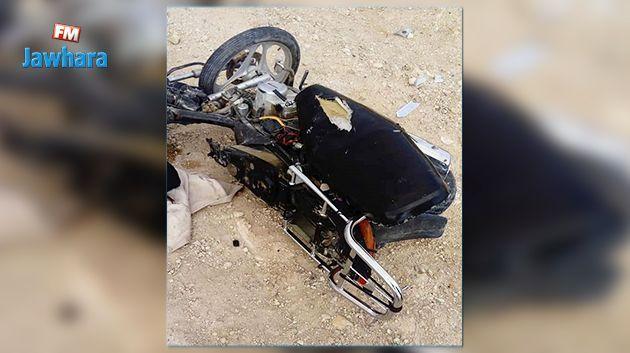 وفاة شخص في حادث مرور بأكودة