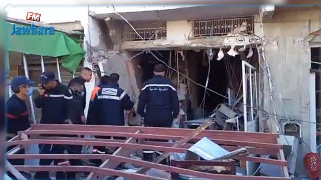 القيروان : تسرب للغاز يتسبب في إنفجار عنيف