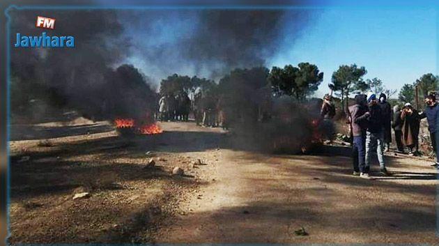 القصرين: احتجاجات في محيط حقل