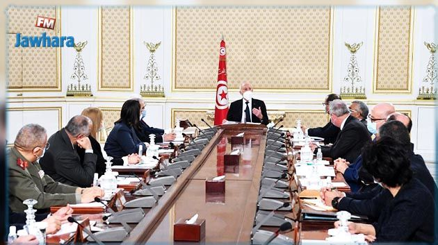 رئيس الجمهورية يُشرف على اجتماع مجلس الأمن القومي