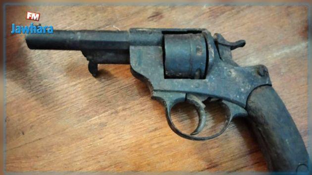 المنستير : حجز مسدس نوع
