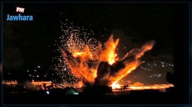 اسرائيل تشن غارات جوية على غزة