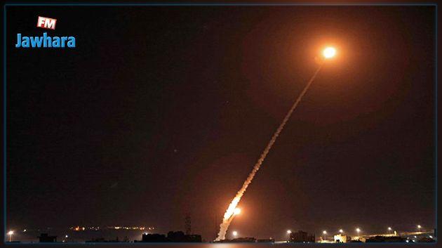 المقاومة تطلق وابلا من الصواريخ نحو تل أبيب