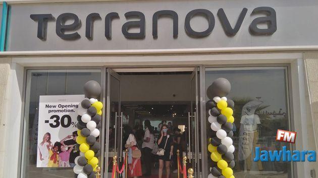 افتتاح مغازة TERRANOVA في Géant Tunis City