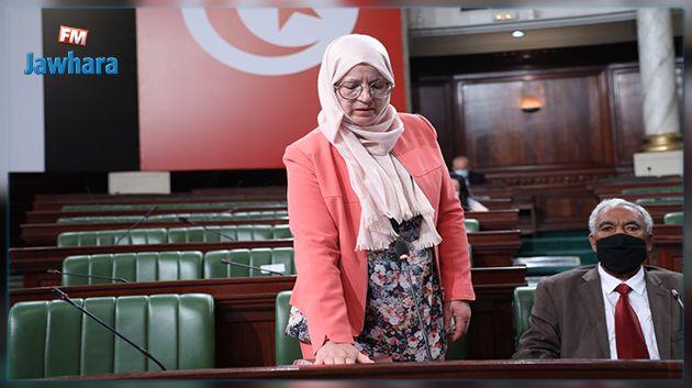 انضمام منجية بوغانمي لعضوية البرلمان اثر وفاة النائب مختار اللموشي