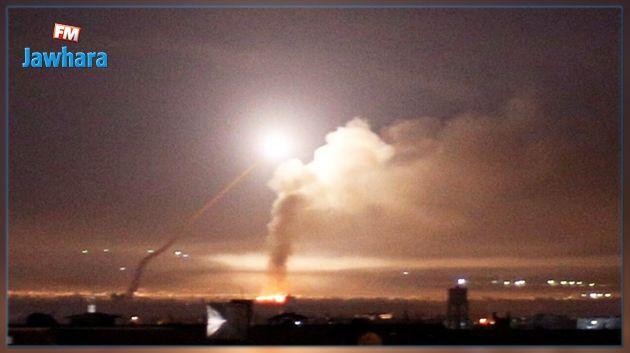 الدفاع الجوي السوري يتصدى لهجوم اسرائيلي