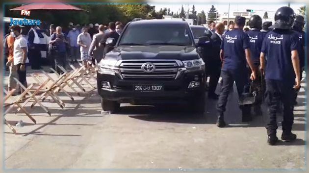 الغنوشي يغادر ساحة باردو