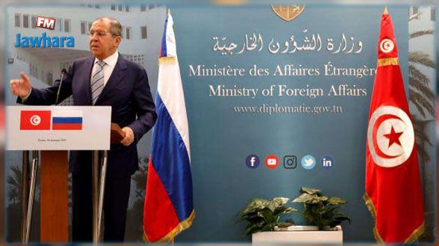 بلاغ الخارجية الروسية حول تطور الأحداث في تونس