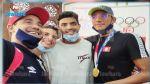 وصول البطل الاولمبي احمد ايوب الحفناوي الى تونس (صور )